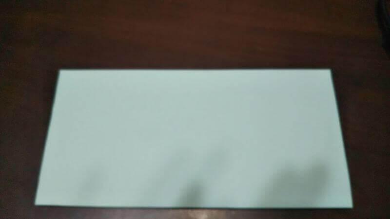 折り紙|カードケース(小物袋)の折り方1