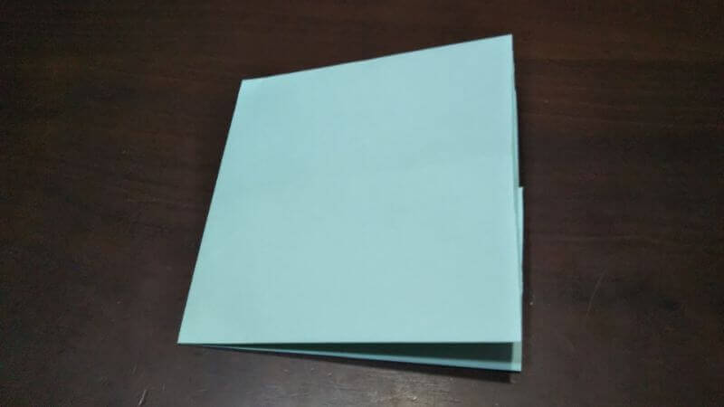 折り紙|カードケース(小物袋)の折り方3