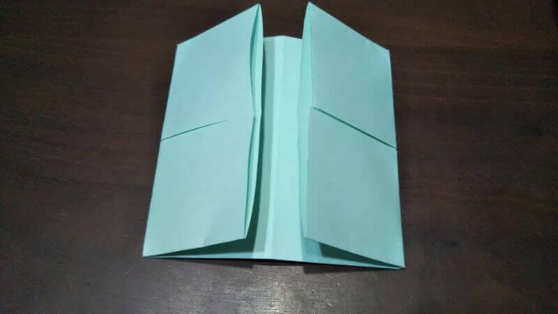 折り紙|カードケース(小物袋)の折り方4