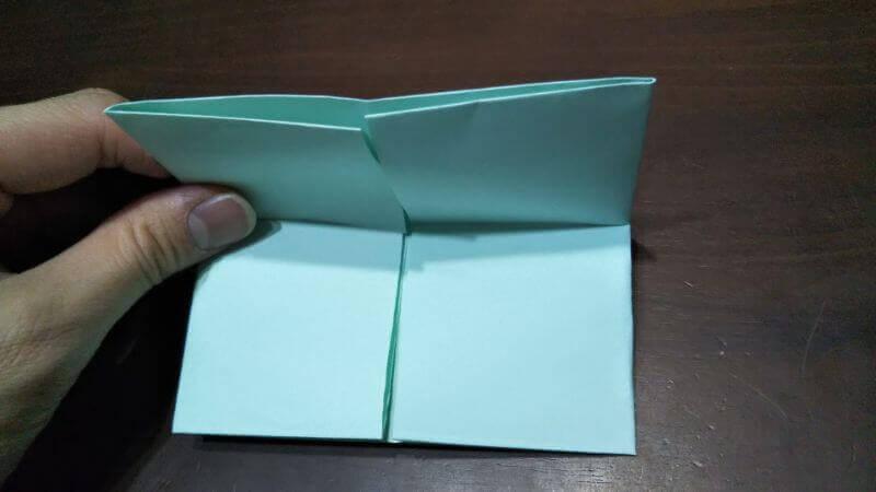 折り紙|カードケース(小物袋)の折り方5