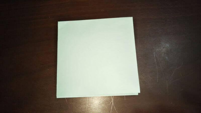 折り紙|おうち(家)の作り方2