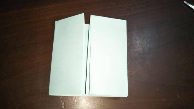 折り紙|おうち(家)の作り方3
