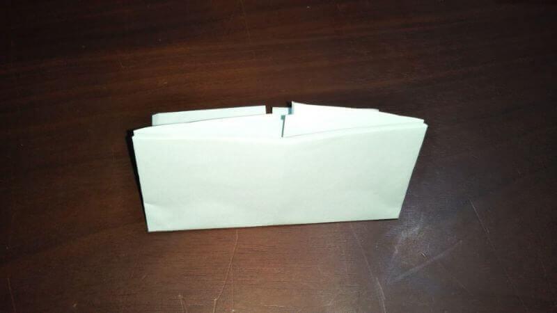 折り紙|おうち(家)の作り方4