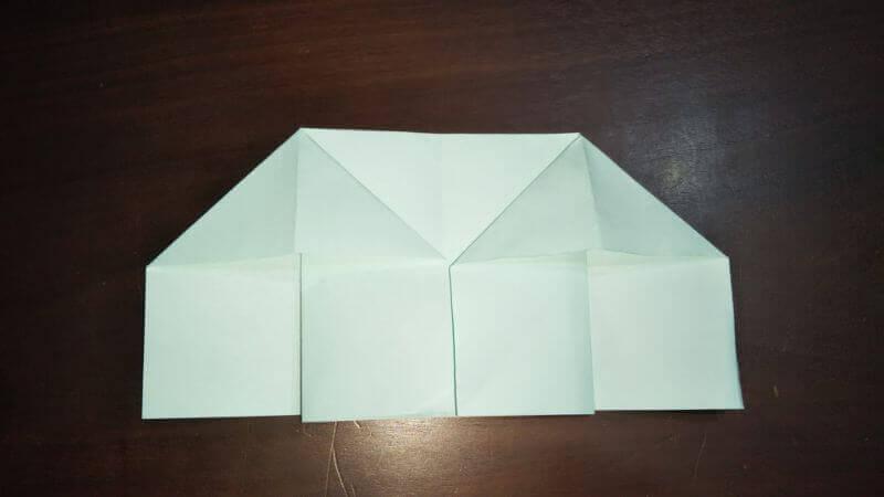 折り紙|おうち(家)の作り方6