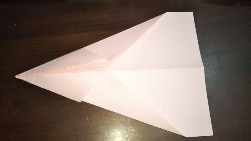 イカ飛行機の作り方手順3