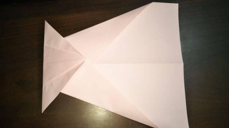 イカ飛行機の作り方手順5