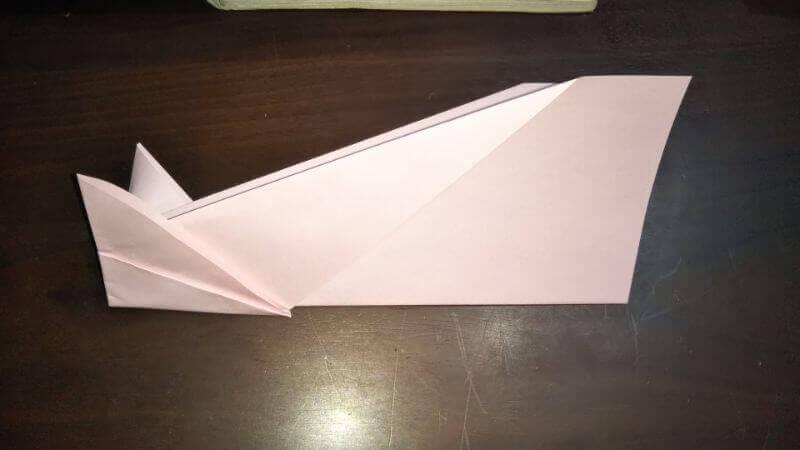 イカ飛行機の作り方手順6