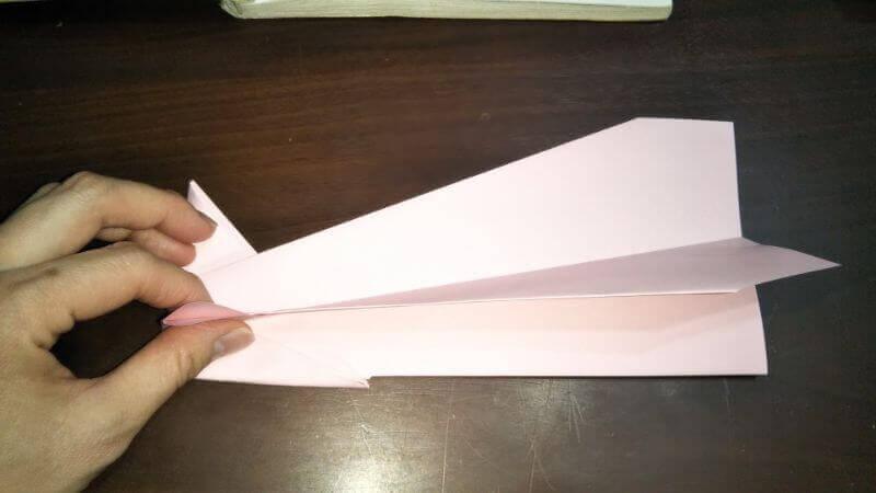 イカ飛行機の作り方手順7