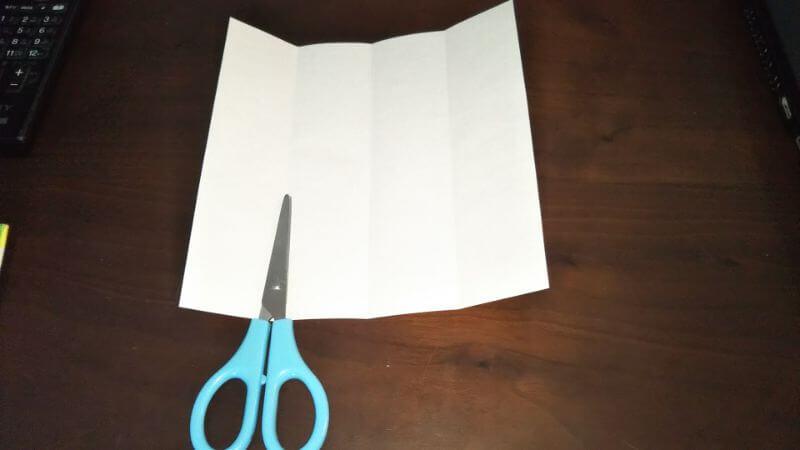 折り紙|サンダルの折り方手順2