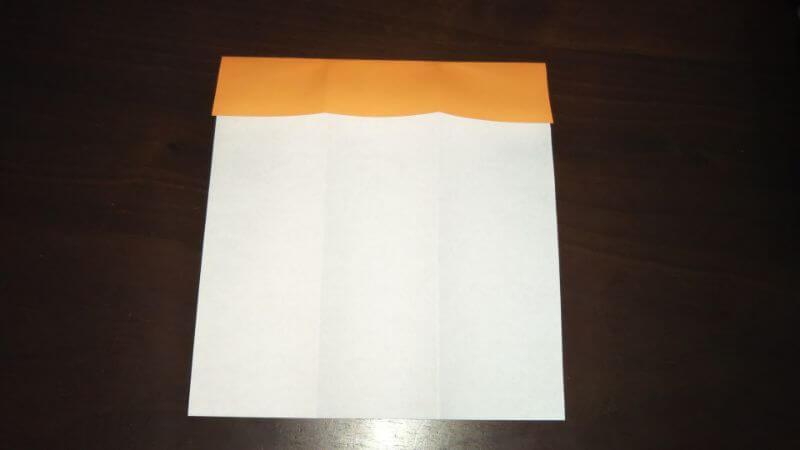 折り紙|サンダルの折り方手順3