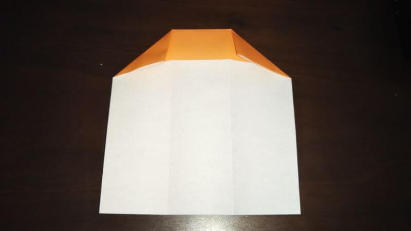 折り紙|サンダルの折り方手順4