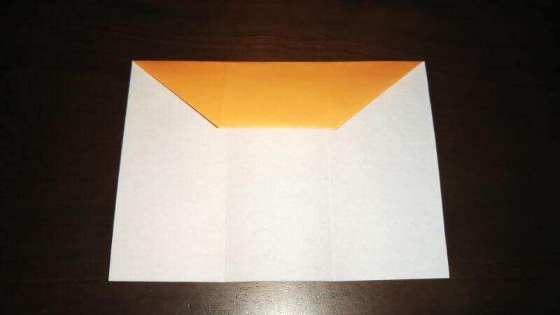 折り紙|サンダルの折り方手順5