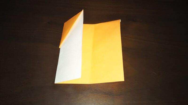 折り紙|サンダルの折り方手順6