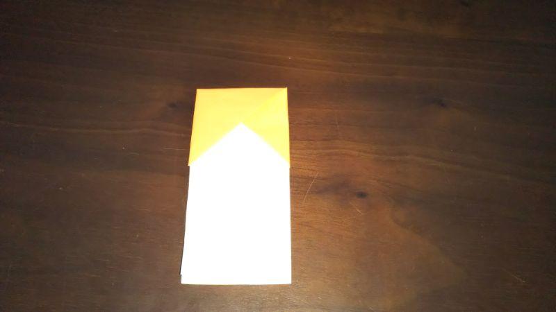 折り紙|サンダルの折り方手順7
