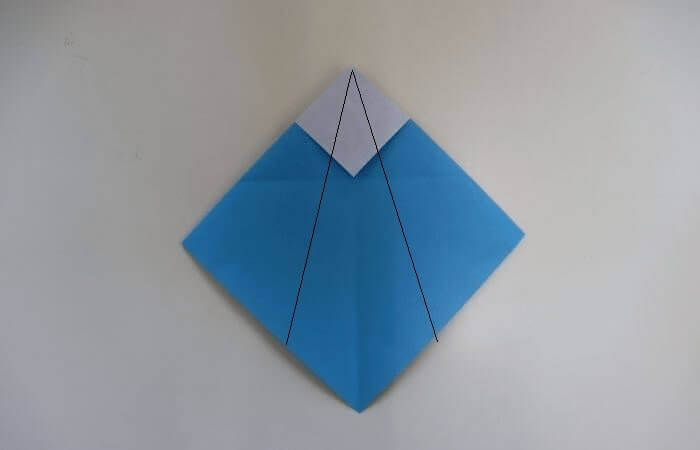 折り紙 雛人形 折り方8