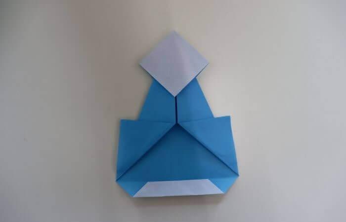折り紙 雛人形 折り方14
