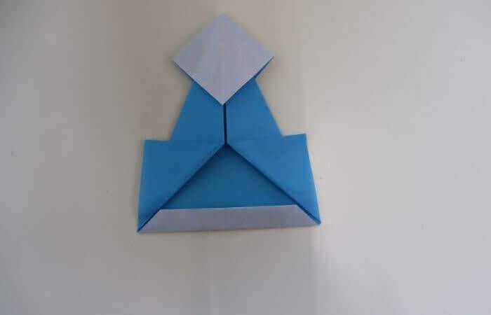 折り紙 雛人形 折り方15