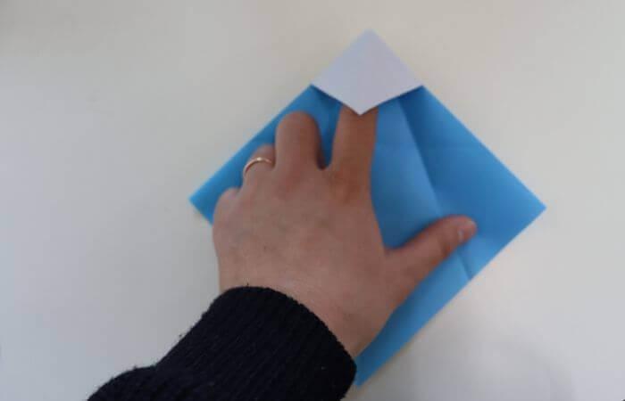 折り紙 雛人形 折り方9