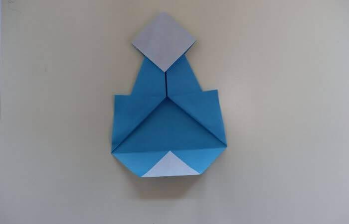 折り紙 雛人形 折り方13