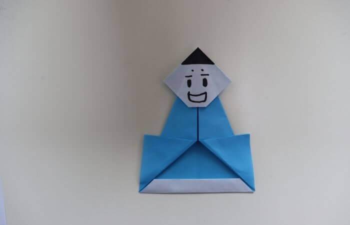 折り紙 雛人形 折り方16