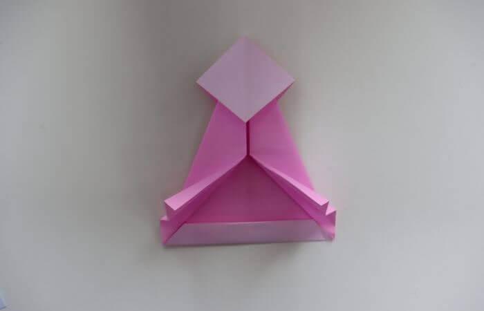 折り紙 雛人形 折り方18