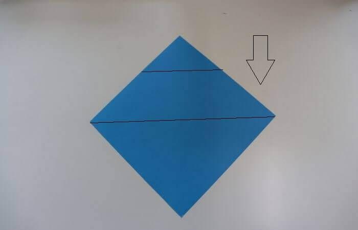 折り紙 雛人形 折り方4