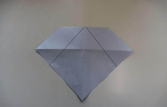 折り紙 雛人形 折り方6