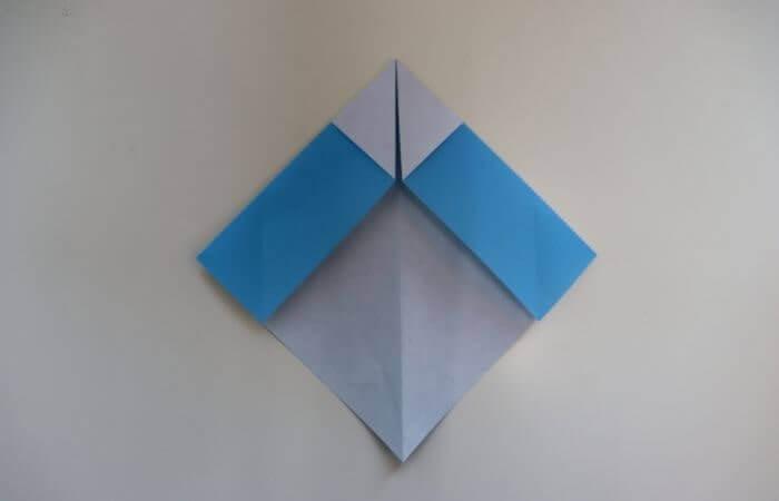 折り紙 雛人形 折り方7