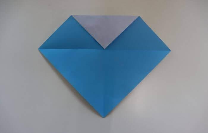 折り紙 雛人形 折り方5