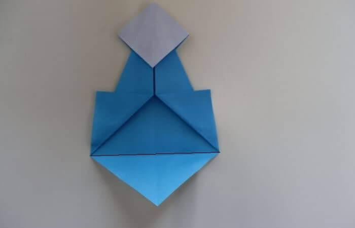 折り紙 雛人形 折り方12