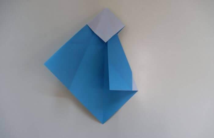 折り紙 雛人形 折り方10