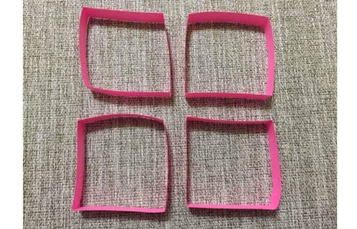 画用紙工作:手作り箱の作り方5