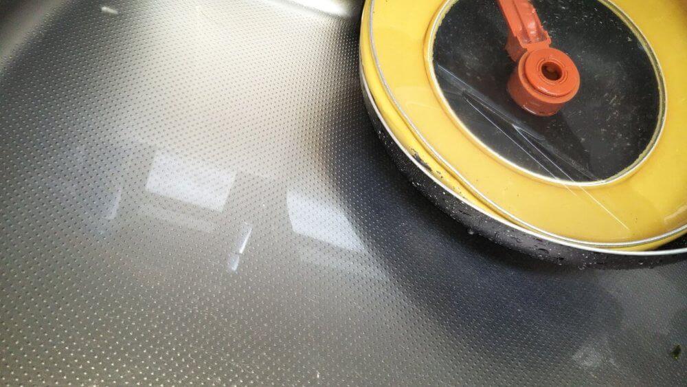 オキシクリーンでキッチンシンク掃除|オキシ漬けの方法5