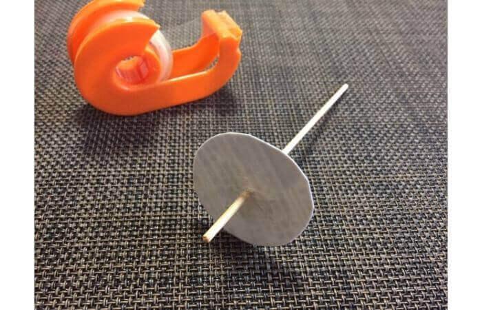 牛乳パック工作:輪ゴムで走る車の作り方9