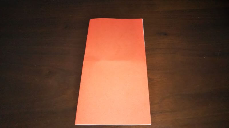 折り紙|かわいい「犬のポチ袋」の折り方1