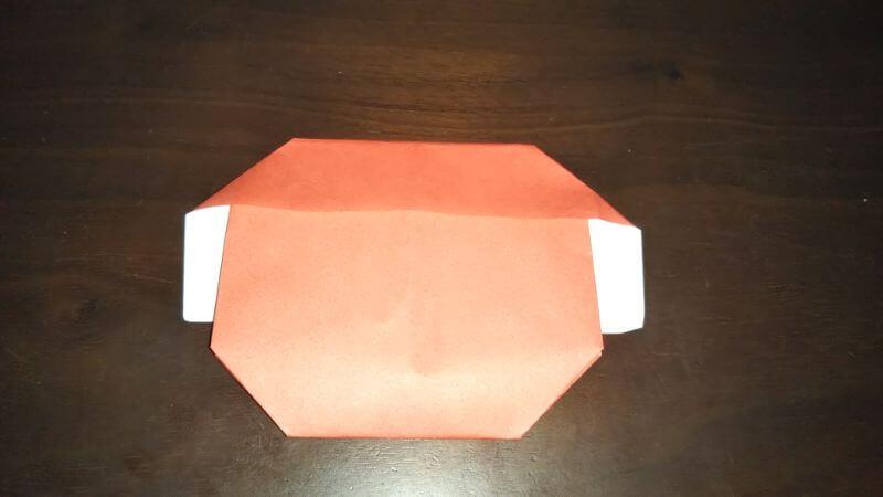 折り紙|かわいい「犬のポチ袋」の折り方10