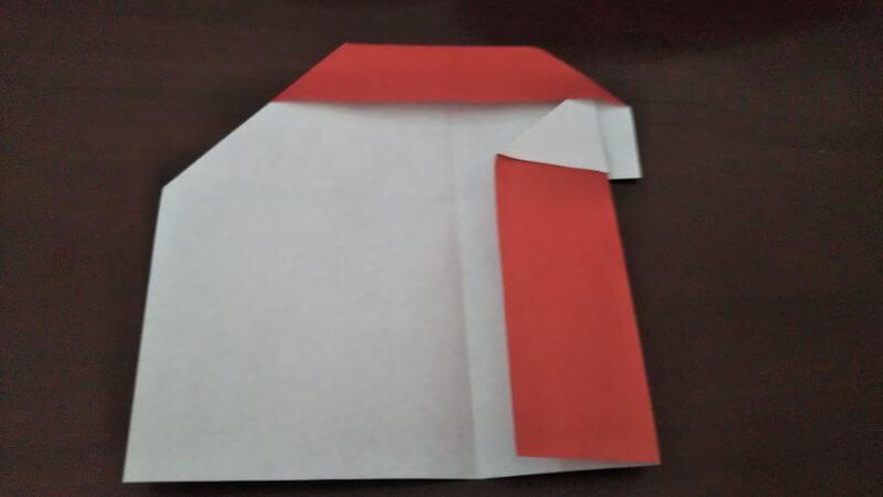 折り紙|かわいい「犬のポチ袋」の折り方5