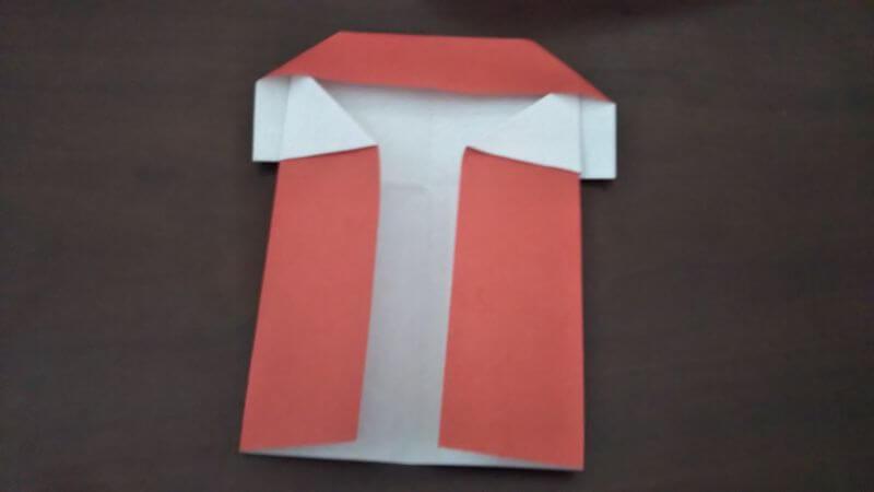 折り紙|かわいい「犬のポチ袋」の折り方6