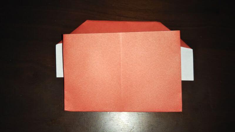 折り紙|かわいい「犬のポチ袋」の折り方7