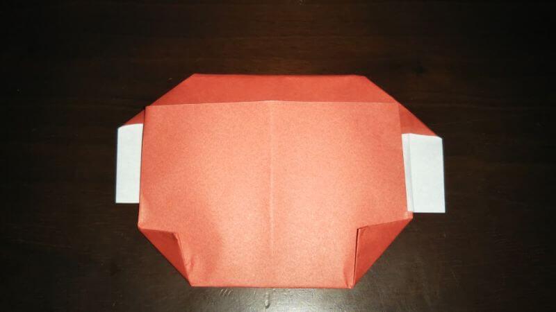 折り紙|かわいい「犬のポチ袋」の折り方8