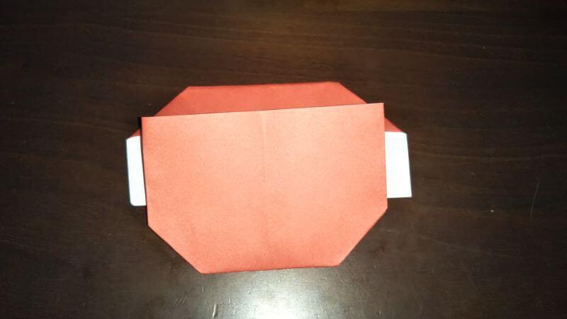 折り紙|かわいい「犬のポチ袋」の折り方9