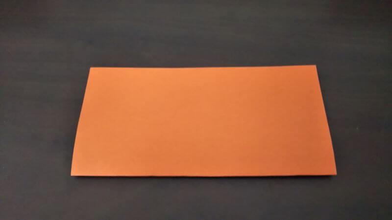 折り紙『かわいい魚の箸袋』の折り方1