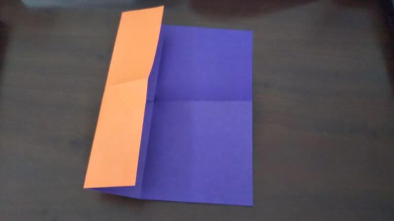 折り紙『かわいい魚の箸袋』の折り方3