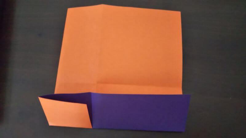 折り紙『かわいい魚の箸袋』の折り方4
