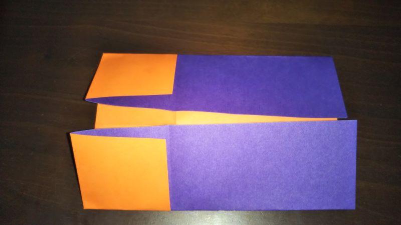 折り紙『かわいい魚の箸袋』の折り方5
