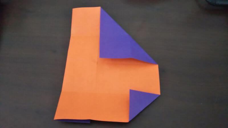 折り紙『かわいい魚の箸袋』の折り方6