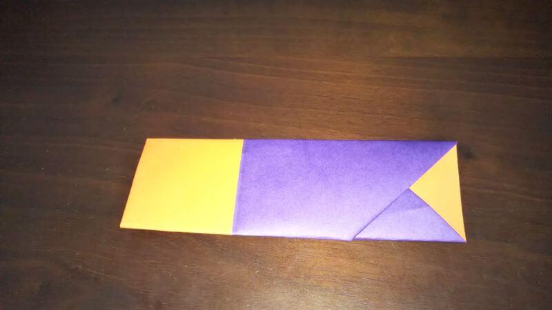 折り紙『かわいい魚の箸袋』の折り方8