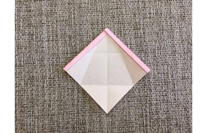 雛人形の折り紙の折り方【からだ(土台)6】