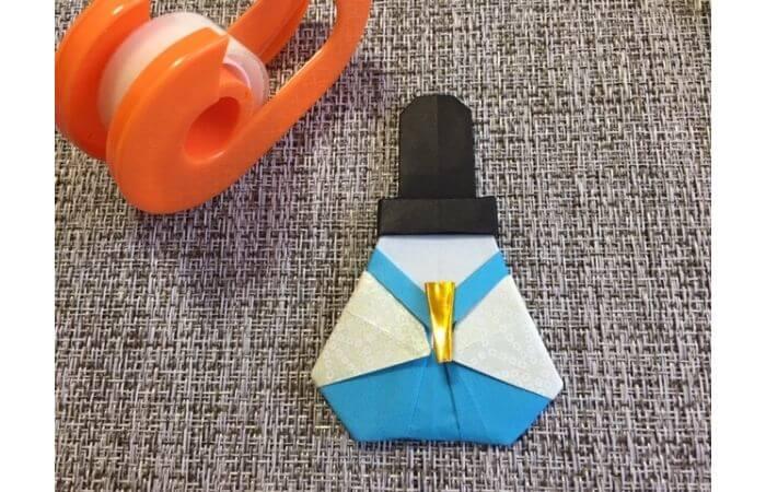 雛人形の折り紙の折り方【合体12】