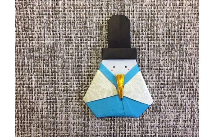 雛人形の折り紙の折り方【合体13】